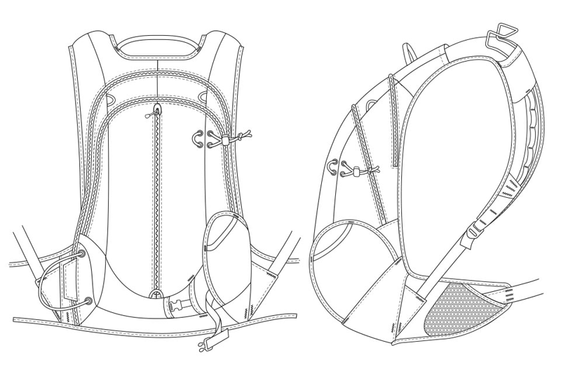 Backpack schematic
